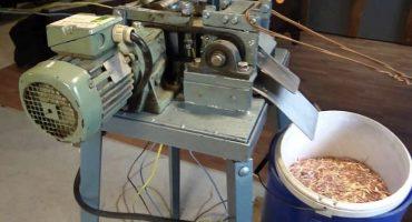 Cómo hacer un granulador a partir de una picadora de carne - instrucciones paso a paso