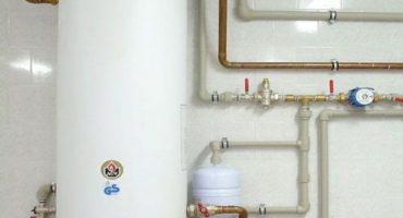 Arnés y dispositivo para caldera de calentamiento indirecto.