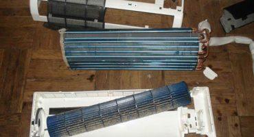 Hágalo usted mismo limpieza y mantenimiento de un aire acondicionado doméstico