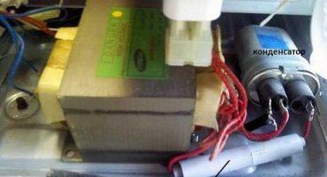 Kontroller og aflad mikroovnkondensatoren