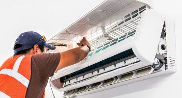 Reemplazar y revisar el compresor y otras partes del aire acondicionado
