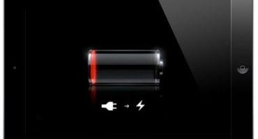 Sustitución de la batería en ipad mini
