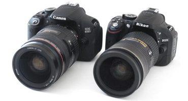 Aling camera ang mas mahusay: Canon o Nikon?