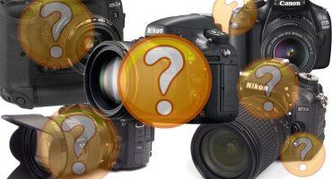 Paano pumili ng isang kamera ng SLR (DSLR)?