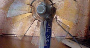Gør-det-selv-kegle og blæser til ventilatoren