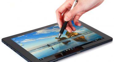 Oversigt over tabletter med en stylus