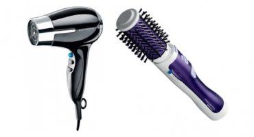 Vælg mellem en hårtørrer og en hårtørrer