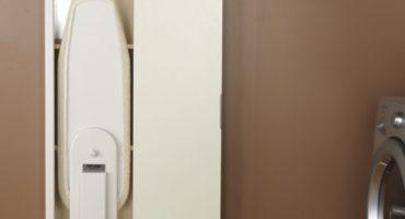 Vælg et vægmonteret, sammenfoldeligt strygebræt, monteringsspidser