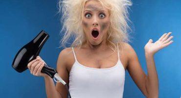 Hvorfor overopvarmes hårtørreren og lukkes?