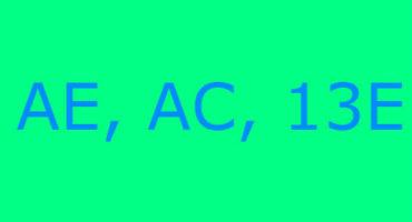 Error code AE, AC, 13E sa washing machine ng Samsung