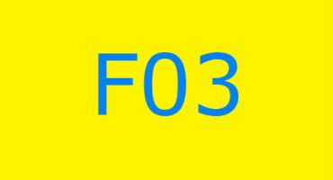 Fejlkode F03 i vaskemaskinen Ariston
