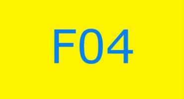 Fejlkode F04 i vaskemaskinen Ariston