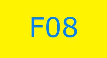 Fejlkode F08 i vaskemaskinen Ariston