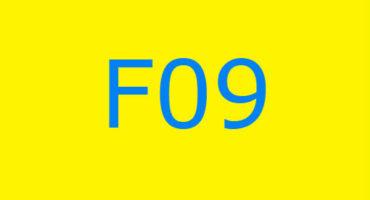 Fejlkode F09 i vaskemaskinen Ariston