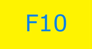 Fejlkode F10 i vaskemaskinen Ariston