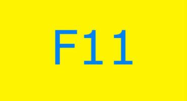 Fejlkode F11 i vaskemaskinen Ariston