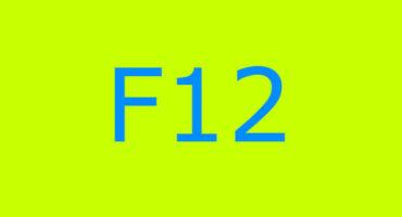Error code F12 sa washing machine Indesit