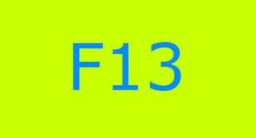 Error code F13 sa washing machine Indesit