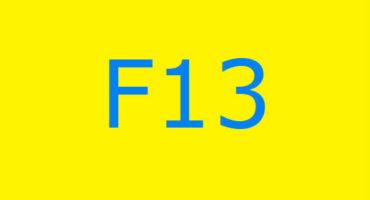 Fejlkode F13 i vaskemaskinen Ariston
