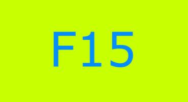 Error code F15 sa washing machine Indesit