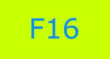 Error code F16 sa washing machine Indesit