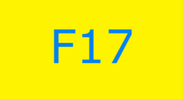 Fejlkode F17 i vaskemaskinen Ariston