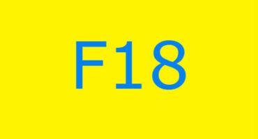 Fejlkode F18 i vaskemaskinen Ariston