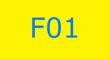Fejlkode F01 i vaskemaskinen Ariston