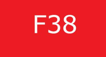 Fejlkode F38 i Bosch-vaskemaskinen