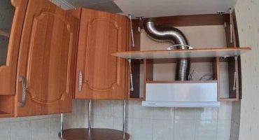 Comment intégrer une hotte dans une armoire dans la cuisine