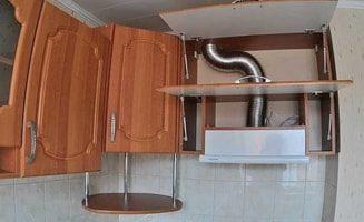 Installation et masquage de l'ondulation sur la hotte - instructions et caractéristiques