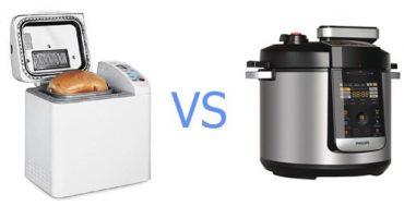 ¿Cuál es la diferencia entre una máquina de pan y una olla de cocción lenta y qué es mejor?