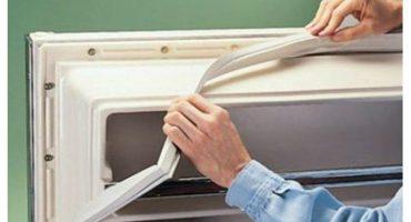 Ang pag-aayos ng selyo ng DIY at pag-aayos ng pinto ng refrigerator sa do-it-yourself