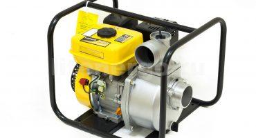 Motopompes à eau: types, critères de sélection de base et application